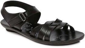 Paragon-Solea Women's Black Slippers