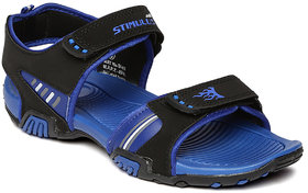 Paragon-Stimulus Men's Navy and Yellow Floaters