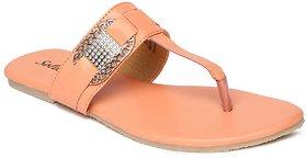 Paragon-Solea Plus Women's Pink Slippers