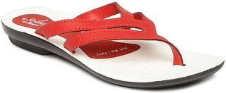 Paragon-Solea Women's Red Slippers