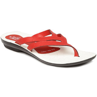 Paragon-Solea Mens Red Slippers
