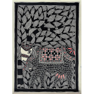 Buy Harmony Arts Original Madhubani Painting By Local Tribal Artist