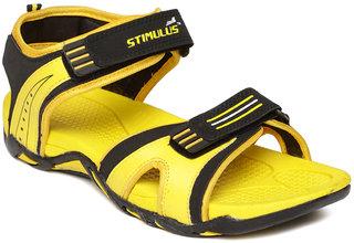 Paragon-Stimulus Men's Yellow Slippers