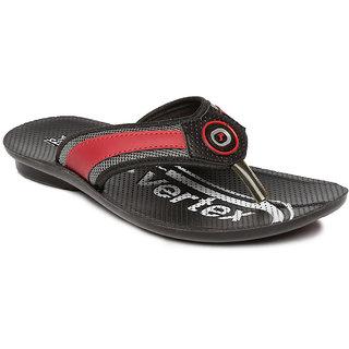 db1cb3967fbf Paragon-Vertex Men s Black Flip Flops Best Deals With Price ...