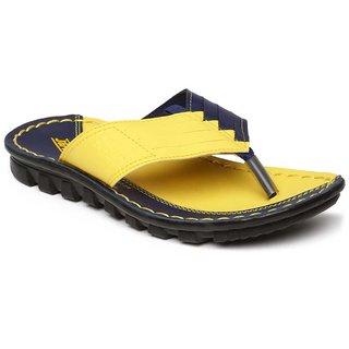 c80879907 Paragon-Vertex Men's Yellow Flip Flops Best Deals With Price ...