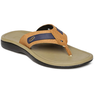 6ad6131cdd5e Buy Paragon-Stimulus Men s Beige Slippers Online - Get 25% Off