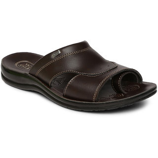 Paragon-Vertex Men's Brown Slippers