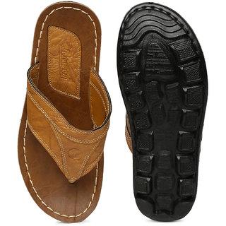 1d5cdaef2 Buy Paragon-Vertex Men's Yellow Slip On Sandal Online @ ₹299 from ...