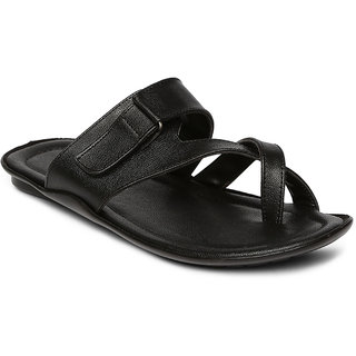 3654fdc97e9 Buy Paragon-Vertex Plus Men s Black Slip On Sandal Online   ₹499 ...