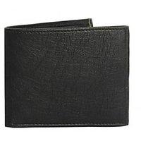 Leather Wallet Olarok  Passport - Cum - Card Holder (Black)