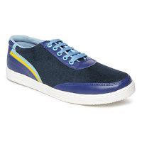 Paragon-Stimulus Men's Blue Lace-up Casual Shoe