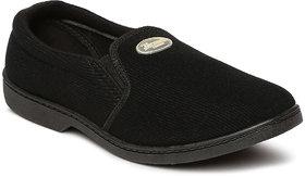 Paragon-Fender Men's Black Slip On Casual Shoe