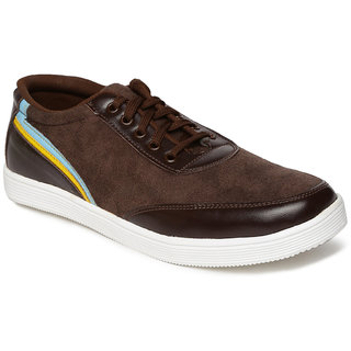 Paragon-Stimulus Men's Brown Lace-up Casual Shoe