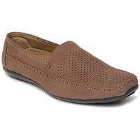 Paragon-Stimulus Men's Brown Slip On Casual Shoe