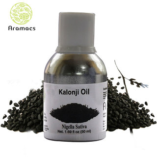 Kalonji Oil Pure and Natural Carrier Oil 50 ML