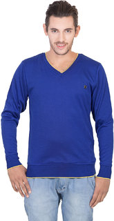 Concepts Royal Blue Men's Full Sleeves Sweater