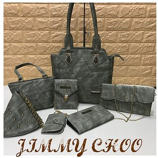 c1ef73fb2647 Buy Branded Hand Bags Combo of 7 Online   ₹2300 from ShopClues