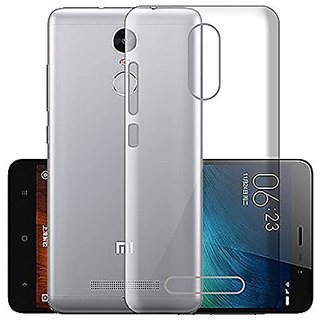 Redmi Note 3 Transparent Soft Back Cover