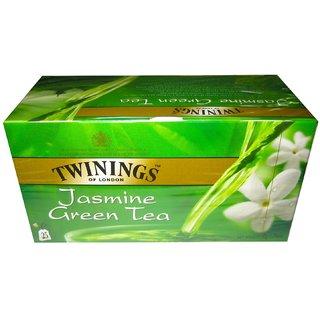Twinings London Green Tea  Jasmine (Imported), 25 Tea Bags