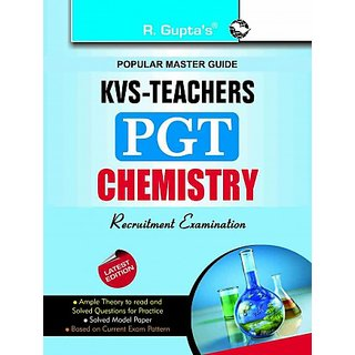 KVS Teachers (PGT) Chemistry Guide