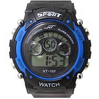 7LBl Sports Multi Color Lights Digital Watch For Boys