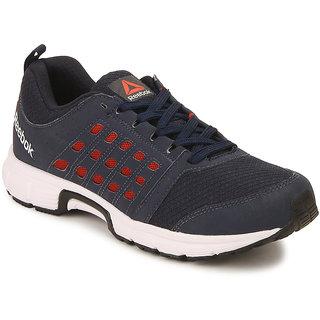 Reebok  Mens Navy Sport Shoes