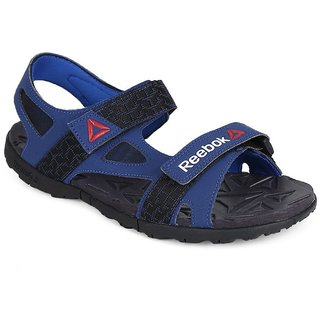 Reebok Mens Blue Velcro Sandals