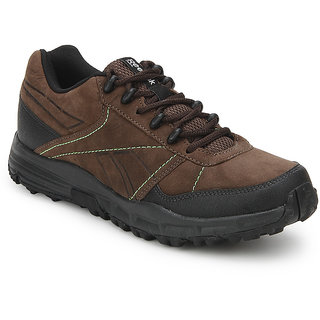 Reebok  Mens Black,Green Sport Shoes