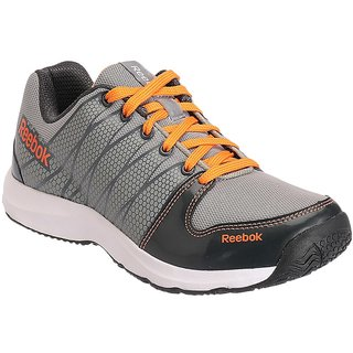 Reebok  Mens Gray Sport Shoes