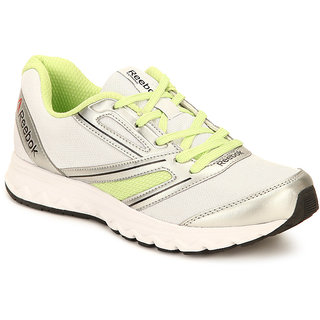 Reebok Womens White Sports Shoes