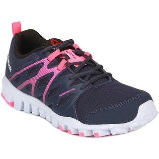 Reebok Womens Black,Pink Sports Shoes