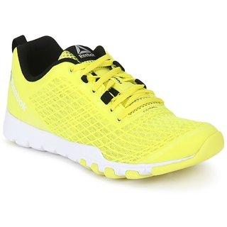Reebok Womens Yellow Sports Shoes