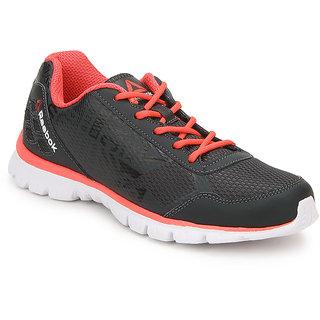 Reebok Womens Gray,White Sports Shoes