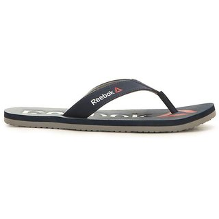 Reebok Mens Navy Slippers