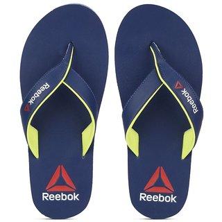 Reebok Mens Blue Slippers
