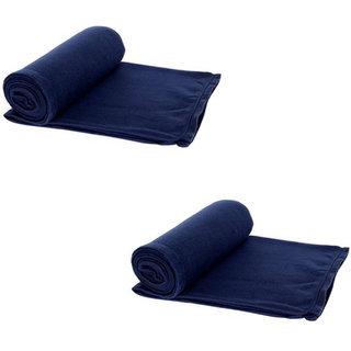 Nakoda Creation Single Bed Super Lite Blanket Pack of 2