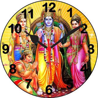 3d ram darbar 1 wall clock