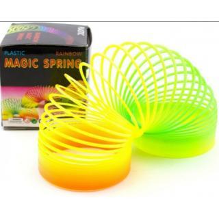 Plastic Rainbow Magic Spring