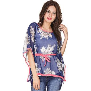 Klick2style Floral Print Kaftan Top