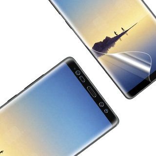 DY 3D Soft TPU Film case friendly Screen Protector For Samsung Galaxy Note 8 with installation Kit