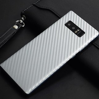 DY 3M Avery Oracal Carbon Fiber Skin Back Only for Samsung Galaxy Note 8 with installation Kit