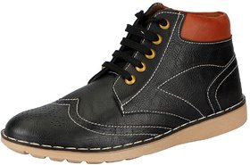 FAUSTO Black Men's Boots