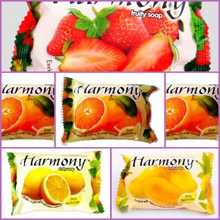 Harmony Fruity Soap ( Mix Pack  6 -75 gms)