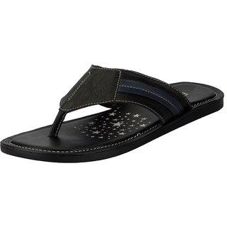 3f3efefb8f4 Buy FAUSTO Black Men s Flip Flop and House Slippers Online - Get 4% Off