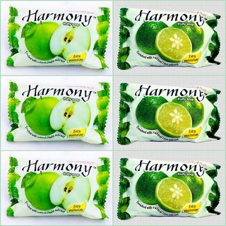 Harmony Fruity Soap ( Mix Pack of 6 -75 gms)