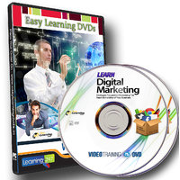 Learn Digital Marketing 12 Video Course On 2 DVDs