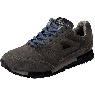 Bata Grey Mens Sports Shoes