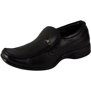 Bata Black Mens Formal Loafer