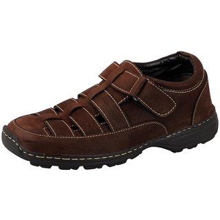 Bata Brown Men's Sandals