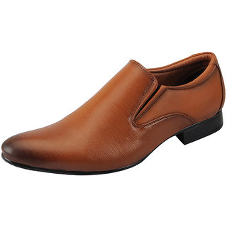 Bata Tan Mens Formal Loafer